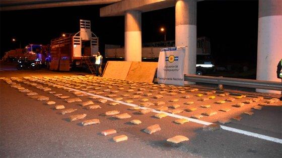 Incautan cargamento de cocaína y marihuana en Entre Ríos valuado en $18 millones