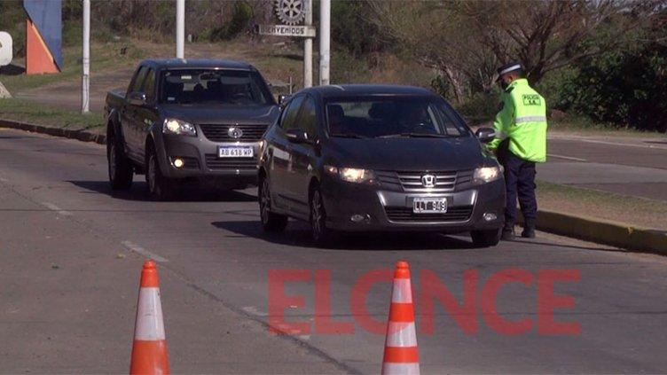 Hisopado para ingresar a Santa Fe: Disminuyó un 30% la circulación en el Túnel