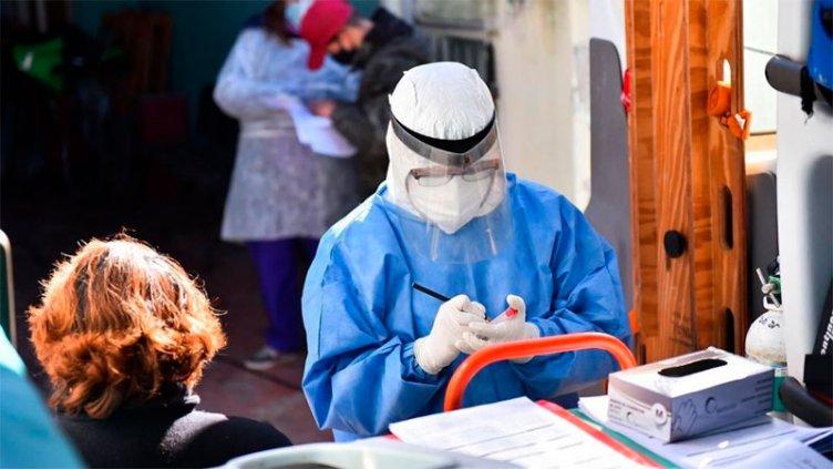 Argentina reportó 350 muertes y 13.379 nuevos contagios de covid-19