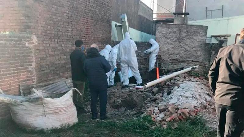 El cadáver de la mujer fue encontrado en una obra en construcción.