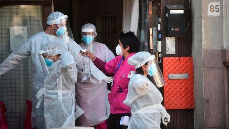 Coronavirus en Argentina: Se registraron 165 muertes y 6365 nuevos casos
