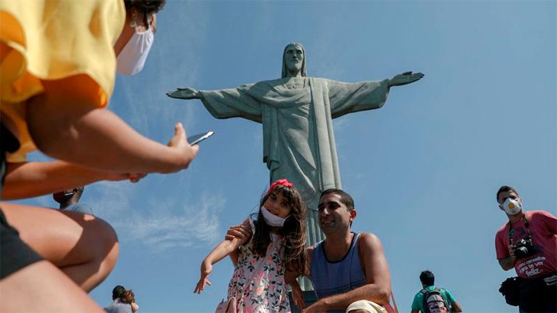 El Cristo Redentor se alza en Río de Janeiro. El nuevo, será más grande