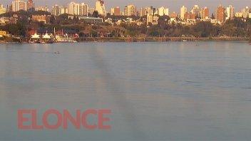 El río Paraná, en una semana perdió 70 centímetros