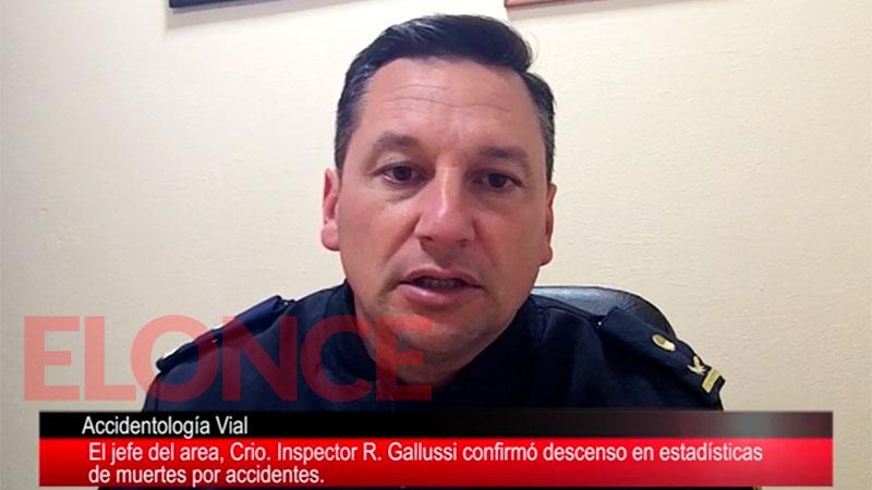 Galliussi, titular de Accidentología Vial, trabajó en el siniestro vial