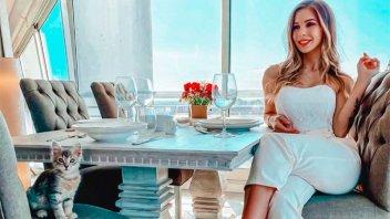 Romina Malaspina mostró detalles de su lujoso departamento