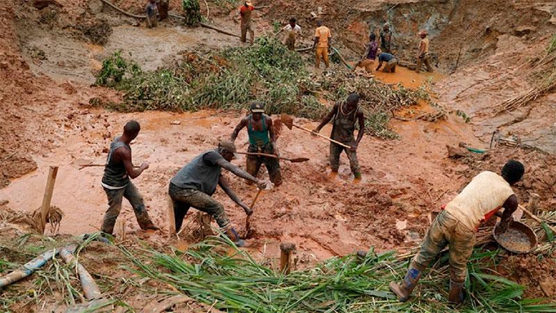 Fallecen más de 50 personas en mina del Congo