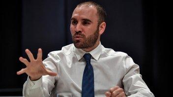 Guzmán dijo que la economía cayó un 10% en 2020 y que no habrá devaluación