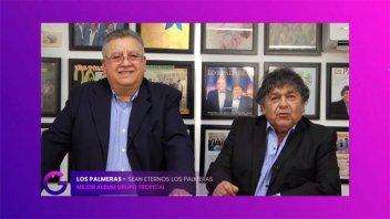 Premios Gardel 2020: Los Palmeras ganaron como Mejor Álbum Grupo Tropical