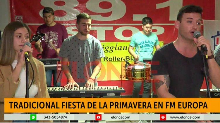 En Paraná la primavera se festejó en casa: Shows en vivo y mucha diversión
