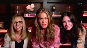 El divertido regreso de las chicas de Friends en los premios Emmy 2020