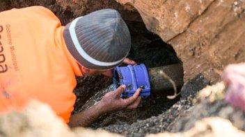 Por trabajos en red de agua potable se interrumpe el servicio en algunas zonas