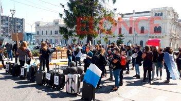 Prestadores turísticos se manifestaron por la crisis que atraviesa el sector