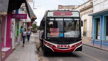 Modifican temporalmente el recorrido de cinco líneas del transporte urbano