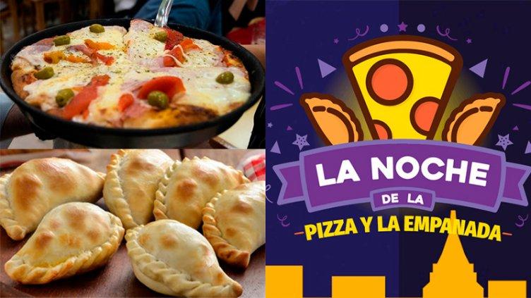 La Noche de la Pizza y la Empanada: Más de 20 locales en Paraná y otras ciudades