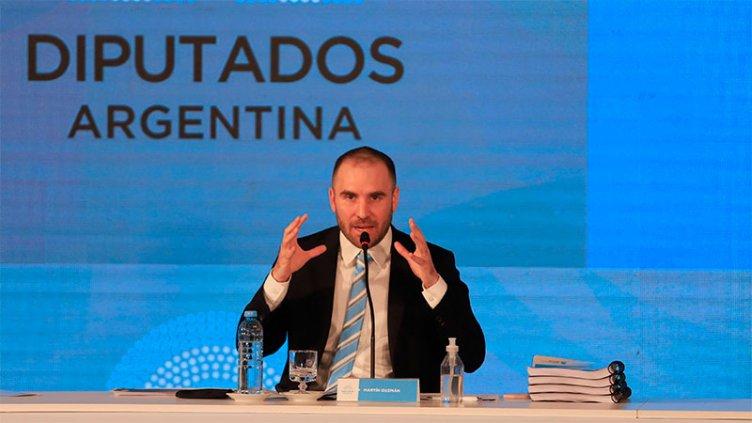 Guzmán presentó proyecto de presupuesto:pide discusión