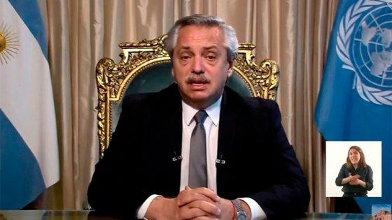 Alberto Fernández ante la ONU: