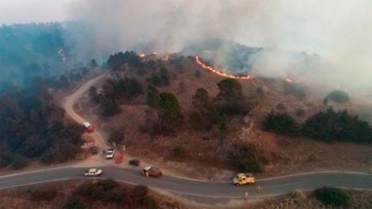 Evacúan Observatorio Astronómico de Córdoba por los incendios