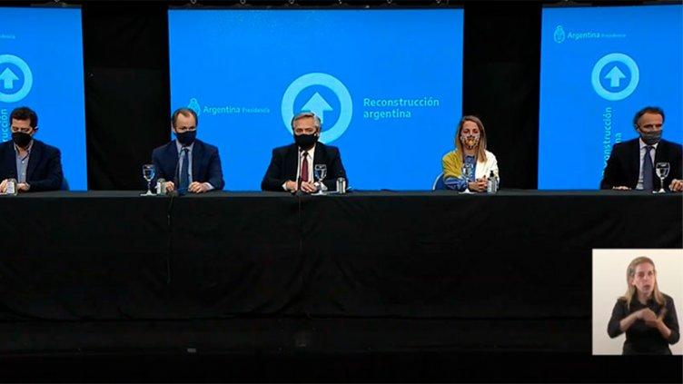 Alberto Fernández en Paraná: El detalle de los convenios que se firmaron