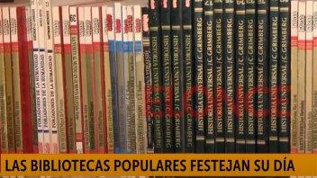Bibliotecas populares festejan su día: la tarea desde entidad de barrio El Sol