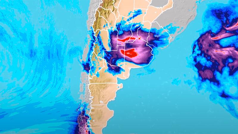 Anuncian las primeras tormentas de la primavera: Cuándo y cuánto podría llover