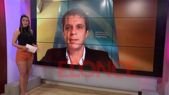 Cresto destacó la obras que el gobierno nacional lleva adelante en Paraná