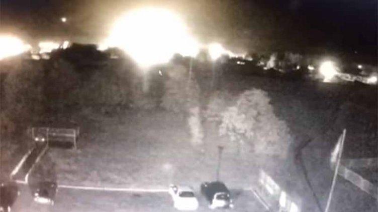 VIDEO: El momento exacto en que se estrella el avión con 27 personas a bordo