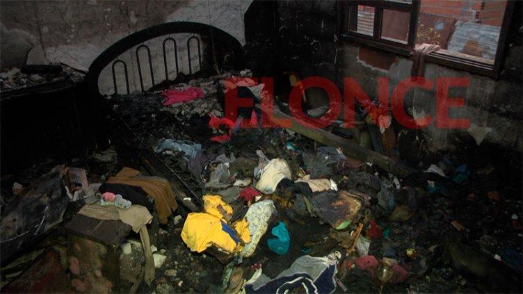 Sujeto quemó la casa de su ex pareja tras una discusión: Ella pide ayuda