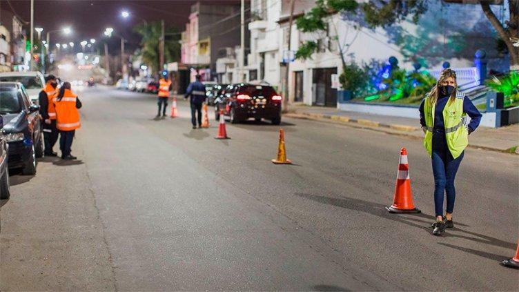 Hubo controles nocturnos preventivos en diferentes puntos de Paraná