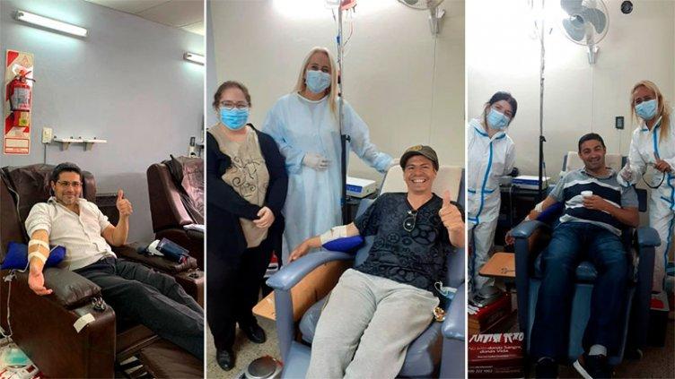 Se realizaron 60 extracciones de plasma en el hospital San Martín de Paraná