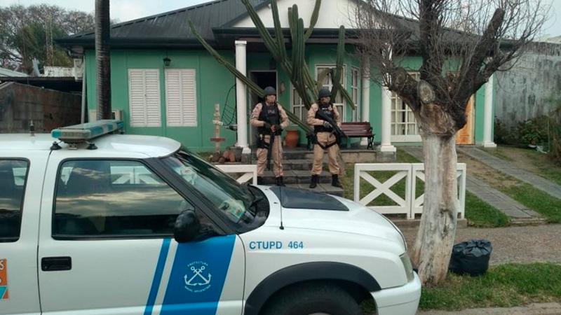 Narcotráfico: Incautaron drogas por casi tres millones de pesos en allanamientos