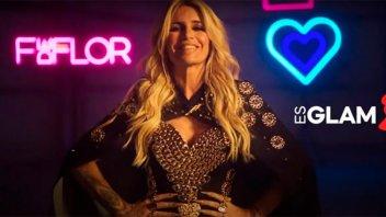 Flor Peña se lanzó como cantante y presentó su primer videoclip