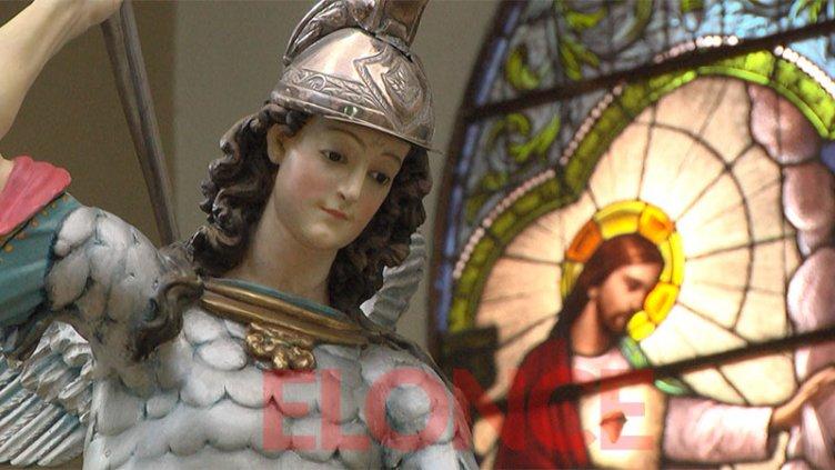 Este martes, Elonce TV transmitirá la Misa en honor a San Miguel Arcángel