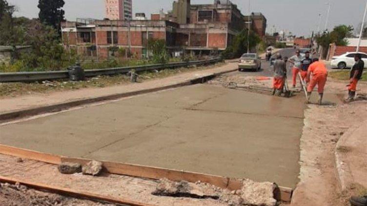 Insólito: Robaron moldes de hierro utilizados para arreglar una calle de Paraná