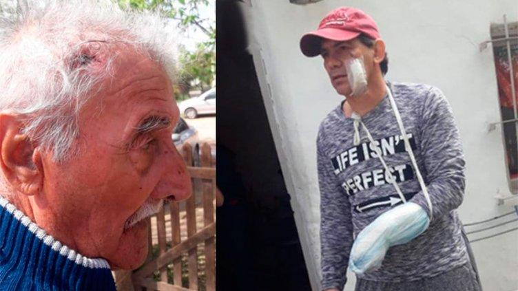 Padre e hijo fueron víctimas de violento asalto mientras descansaban en su casa