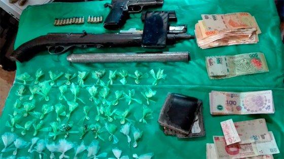 Detuvieron a empleado municipal con cocaína, armas y un camión del Municipio