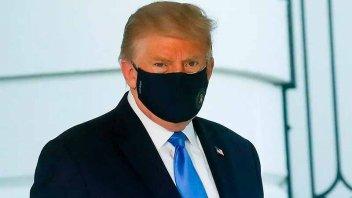 La Casa Blanca informó que el presidente Donald Trump dio negativo por COVID-19