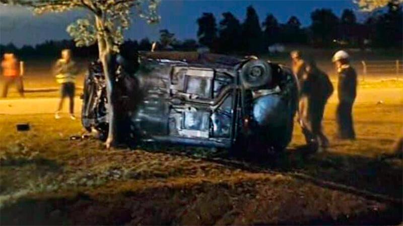 Fatal accidente en Ruta 131