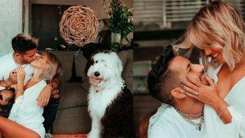 Stefi Roitman anunció su casamiento con Ricky Montaner :