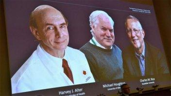 Descubridores del virus de la hepatitis C, obtuvieron el Nobel de Medicina