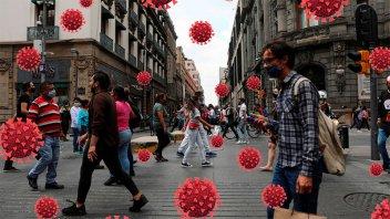 EE.UU modificó su criterio y reconoce contagios de coronavirus por aire