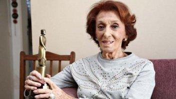 A los 99 años, la actriz Hilda Bernard se recuperó de coronavirus