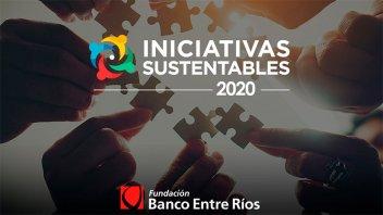 Iniciativas Sustentables 2020: Fundación Banco Entre Ríos lanzó la convocatoria