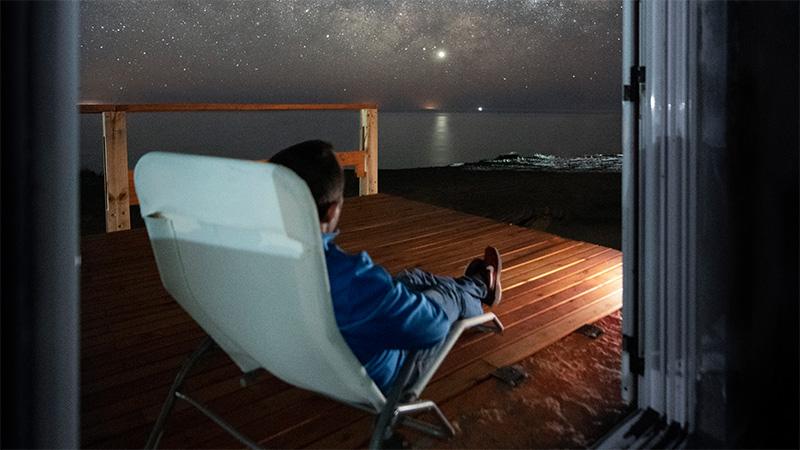 Gerardo es aficionado a la astrofotografía y a la astronomía
