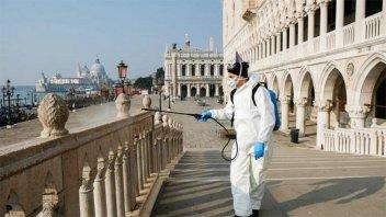 Covid: Italia registra cifras similares a las de su peor momento en la pandemia