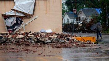 El huracán Delta impactó en EE.UU con vientos de 155 kilómetros por hora