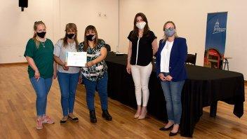 Entregaron un crédito a la cooperativa de trabajo textil El Ceibo de Villaguay