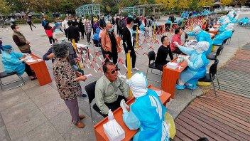 Récord: ciudad china testeó a 3 millones de personas en dos días por un rebrote