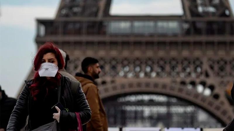 Francia es el país con más casos de coronavirus en Europa.