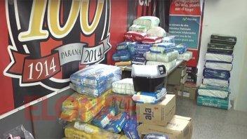 El Club Patronato entregó donaciones para el hospital San Roque