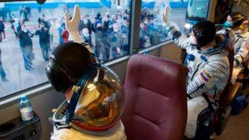 Récord en el espacio: nave llegó a la Estación Espacial en solo tres horas